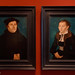 Martin Luther and his wife by Cranach