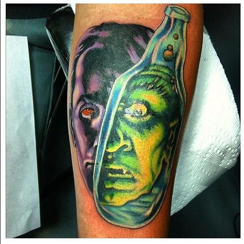 dr jekyll and mr hyde tattoo by adam mcnatt tattoo sancl