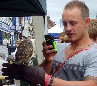 The Lancashire Market in Preston August 2012 - bird in the hand | by Tony Worrall