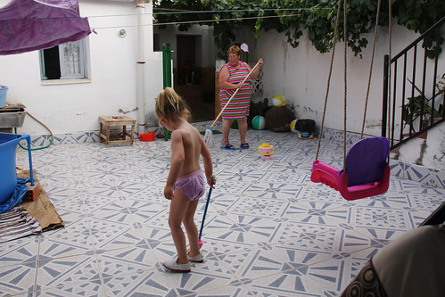 Mopping with Abuela | by erikrasmussen