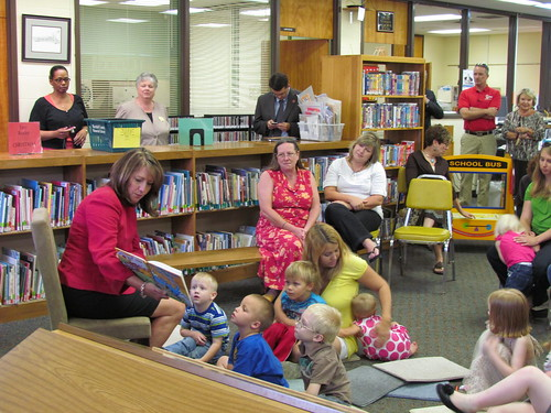 READ20 Family Book Club promotion at Marshall County Library in Lewisburg. | by Crissy Haslam