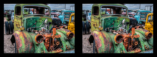 What This Country Needs Is A Green Truck! in HDR & 3D | by JudsonR