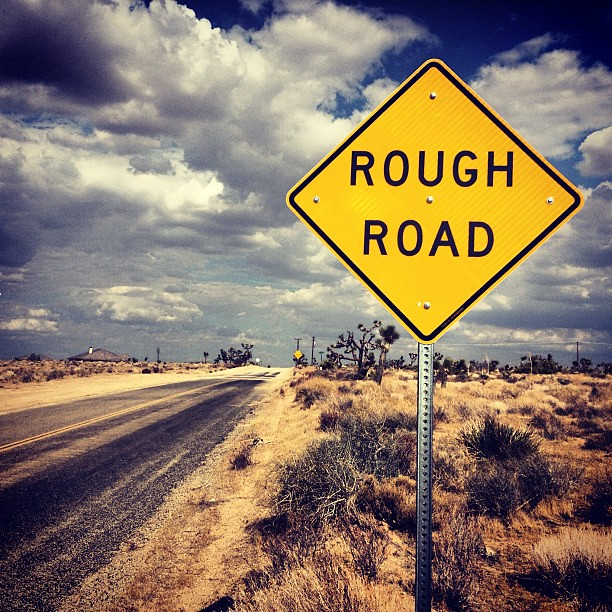 We All Have To Go Down Them At Some Point! #rough #road #s