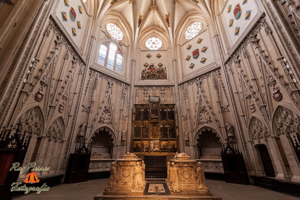 Resultado de imagen de Capilla de Santiago de la Catedral de Toledo