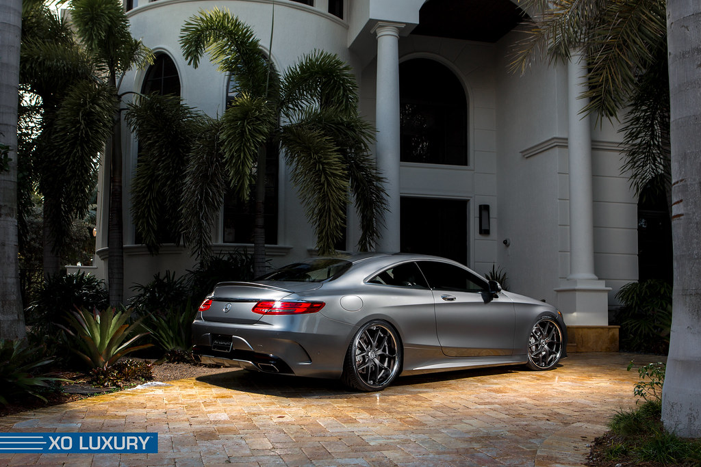 ... Mercedes Benz S550 On XO Luxury Athens Wheels | By XO Luxury Wheels