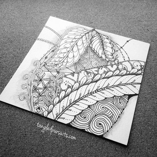 Travelling Tangles Project | by hesedetang *