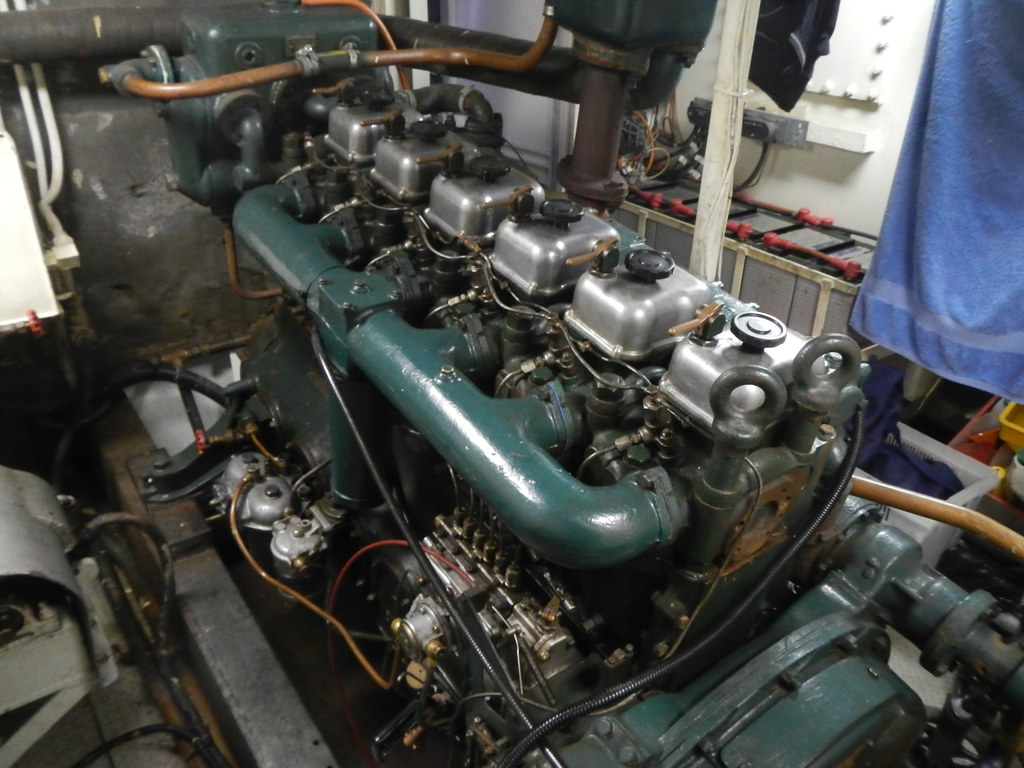 Kelvin Marine Diesel Engine | Adrian Miller | Flickr