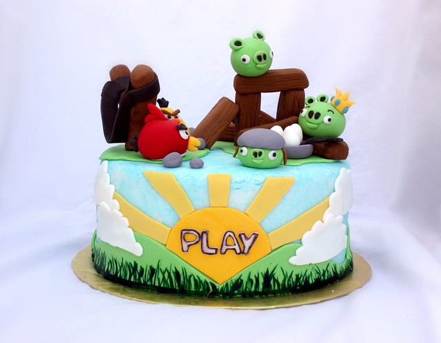angry birds cake angry birds cake flickr photo 1307
