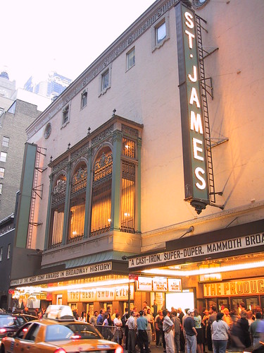 St. James Theatre - Manhattan, New York | by New York Habitat