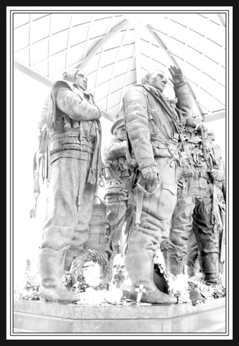 Bomber Command Memorial Statue (High Key) | by Mike Legend