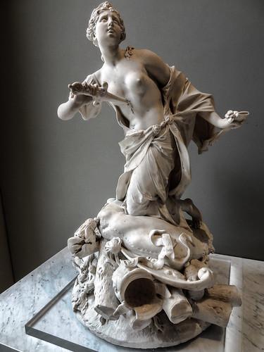 La Mort De Didon Marbre 1711 Augustin Cayot 1667 1772