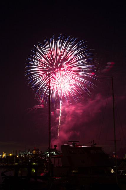 Bainbridge Island Fireworks