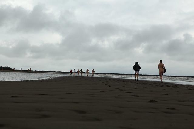 Wreck Beach Bare Buns Run