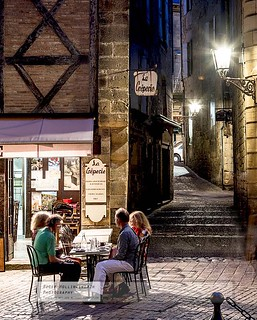 Dining by Gaslight - Sarlat | by doublejeopardy