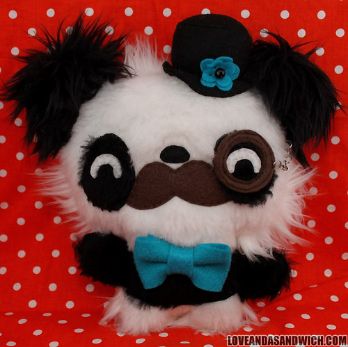 Gentleman Panda | by loveandasandwich