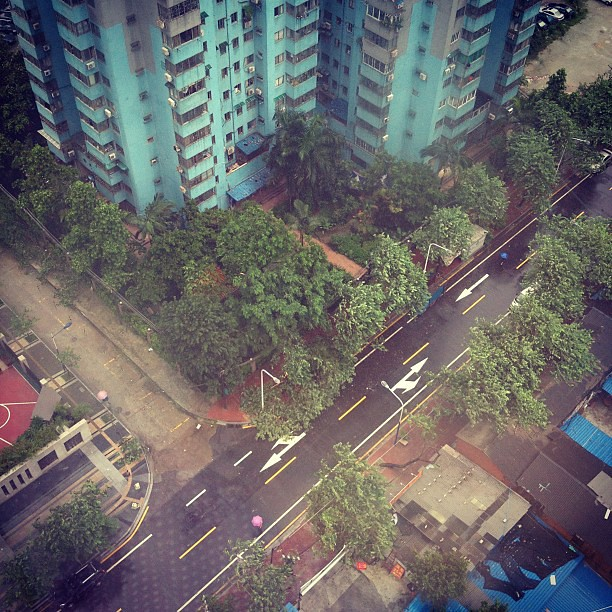 Good Morning...just Another Rainy Day 0.0 #guangzhou #rain