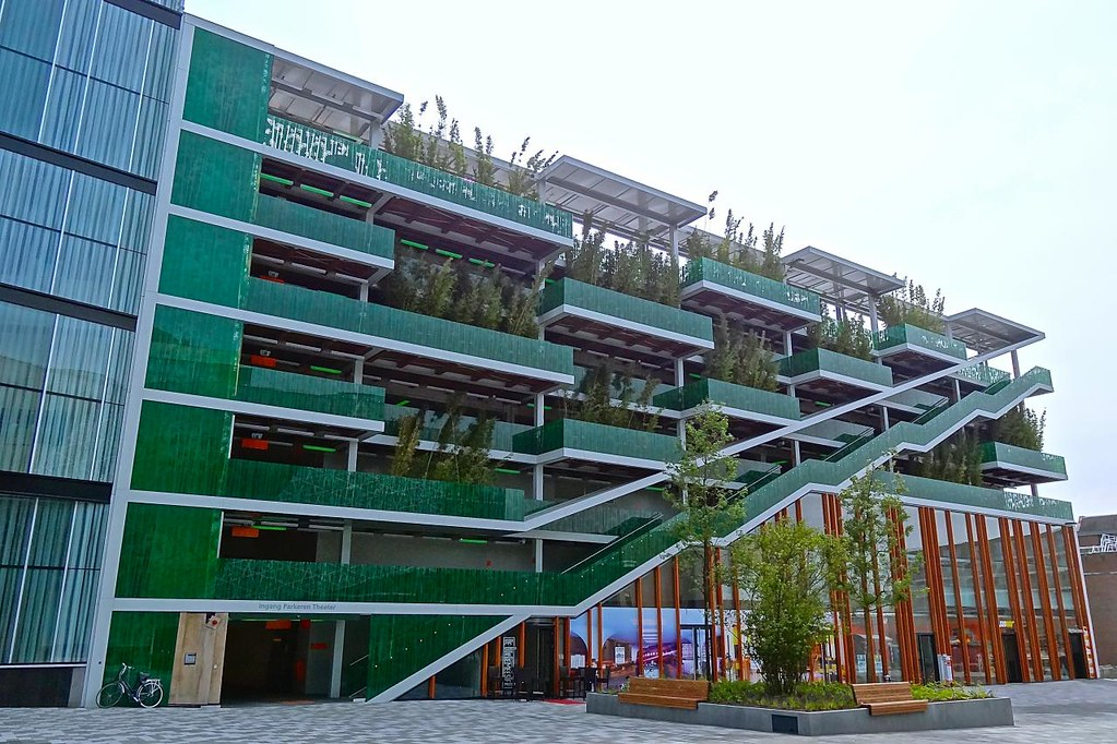 Parking Garage, Nieuwegein, The Netherlands