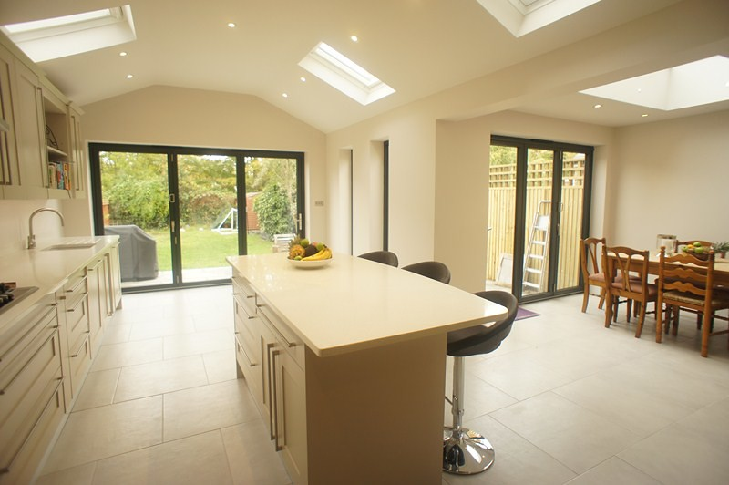 Kitchen Extension With Kitchen Island Sony Dscholland