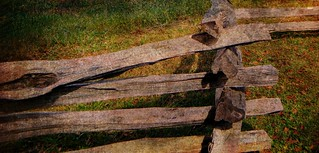 ~JUST AS PLAIN AS OLE SPLIT RAIL FENCE~ | by ~ Cindy~