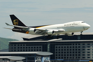 UPS United Parcel Service cargo Boeing 747-4R7FSCD N582UP  MSN 29053 | by Jimmy LWH