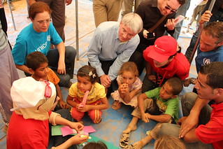 Andrew Mitchell meeting with children from Syria | by DFID - UK Department for International Development