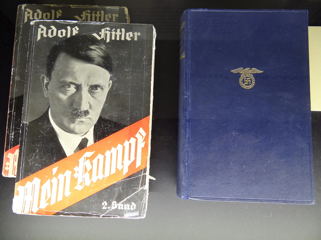 hitlers mein kampf Mein kampf [adolf hitler, ralph manheim] on amazoncom free shipping on qualifying offers in 1922, just four years after the war to end all wars, an unknown austrian then living in bavaria planned a pamphlet to be called settling accounts.