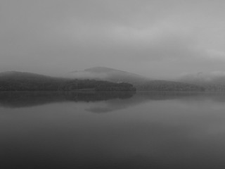 Monksville Foggy Morning BW 2 | by smack53