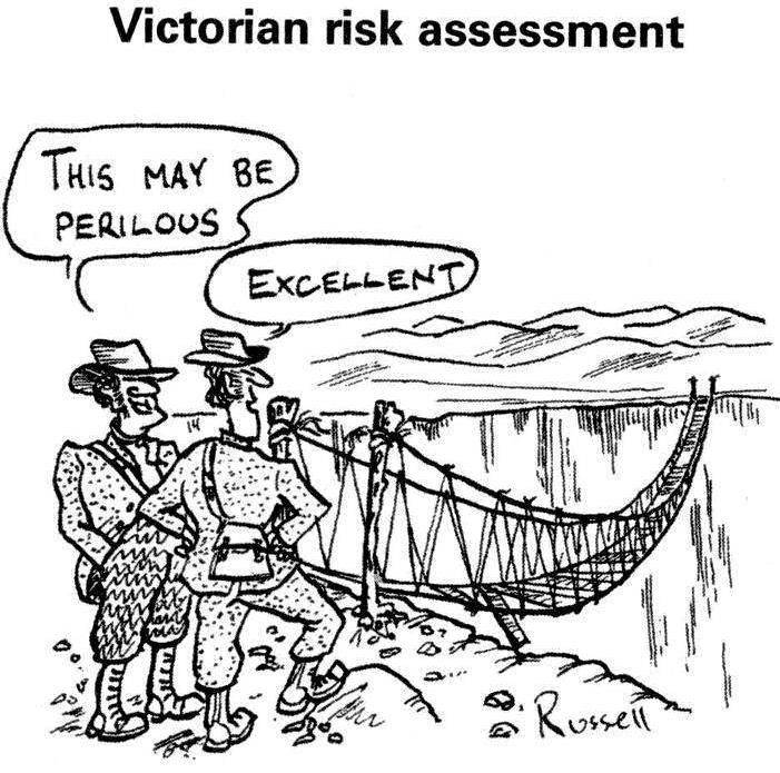 victorian risk assessment cartoon