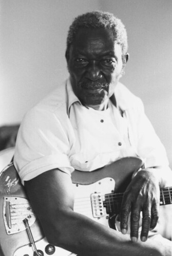 Emmett Murray at a recording session: Belle Glade, Florida | by State Library and Archives of Florida