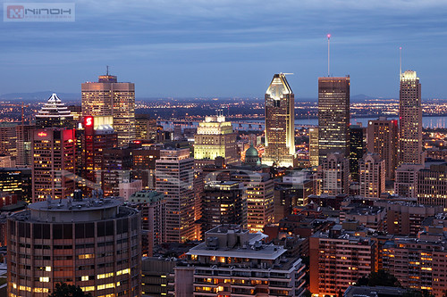 Montreal skyline at night | by Nino H