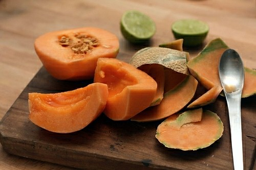 melon for agua fresca | by David Lebovitz