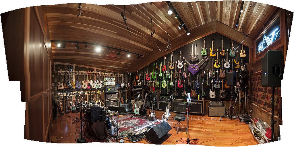 Pleasing Steve Vais Home Studio The Harmony Hut I Love Guitars I Flickr Inspirational Interior Design Netriciaus