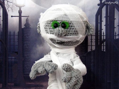 A Little Mummy Amigurumi | by ladynoir63