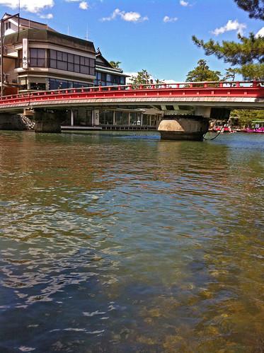 Amanohashidate(Kaisen bridge)