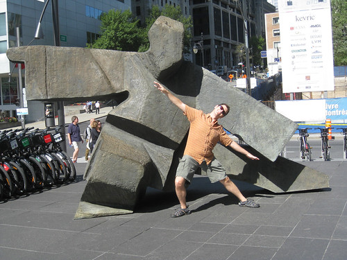 Jack as a sculpture in Montreal | by JackVinson