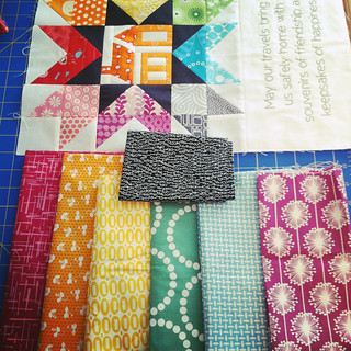 The Traveling Quilts for Monica - Fabric Pull | by Fresh Lemons : Faith