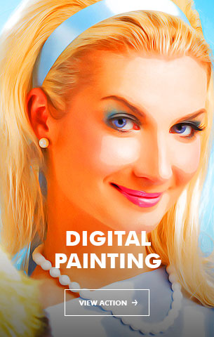 Impressionist Art Photoshop Action