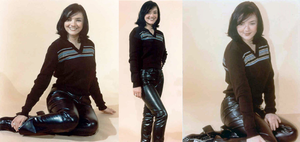 Martine Mccutcheon Leather Pants Gitblp Flickr