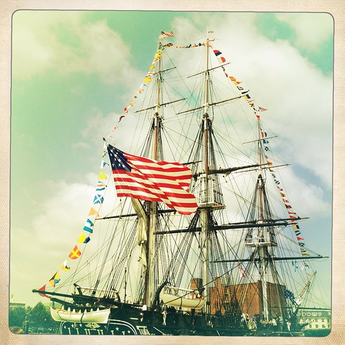 "USS Constitution ""Old Ironsides"" 