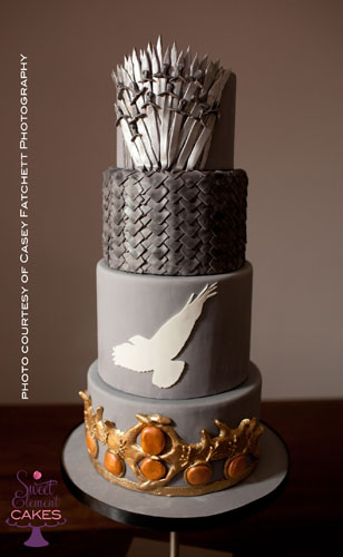 Game of Thrones Wedding Cake | by SweetElement