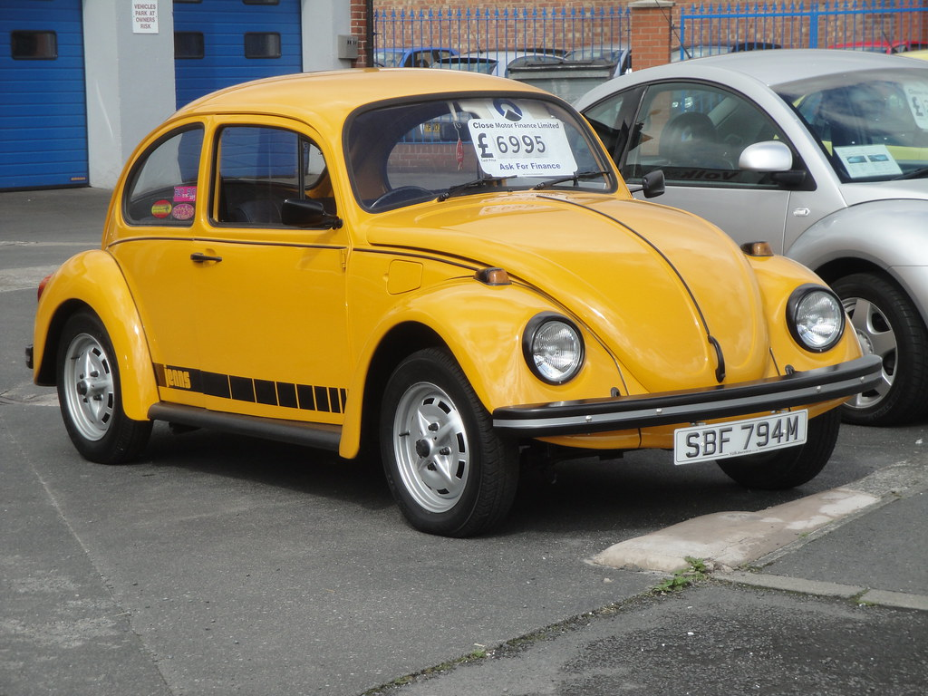 1974 Volkwagen 1200 Jeans Beetle Expensive But What A