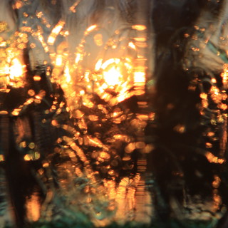 Variations on a sunset #3: Fractured | by kevin dooley