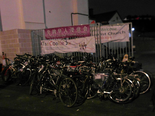 Confiscated bikes | by diamond geezer