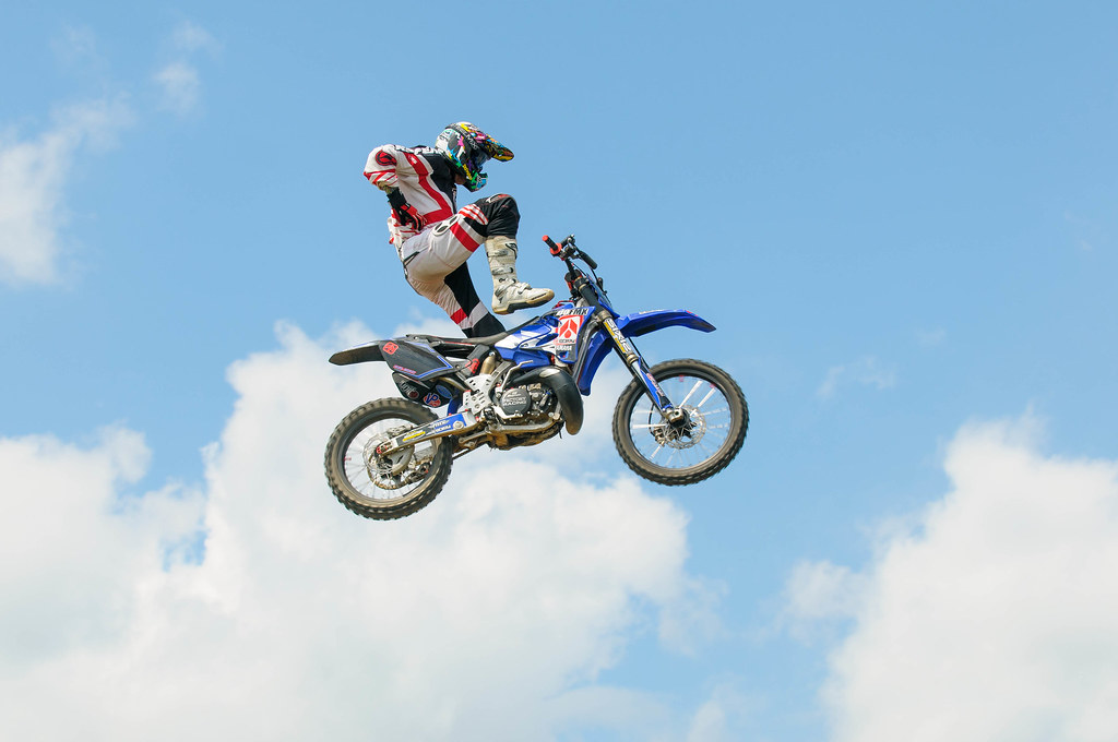 Motocross Freestyle Competition Captain Morgan Bob