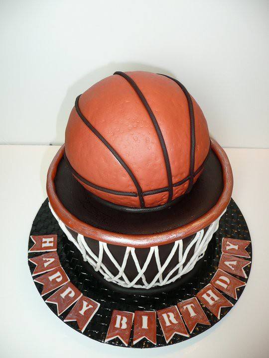 Cake Designs For  Year Old Boy Basketball