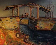 Frank Justin Gonski Art Van Gogh bridge