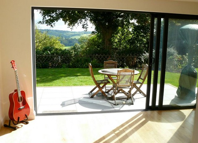 House Extensions With Sliding Doors