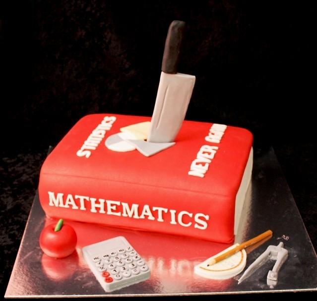 Birthday Cake For Math Teacher