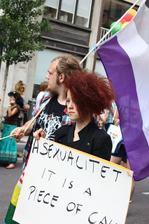Asexual network at Stockholm Pride parade | by trollhare
