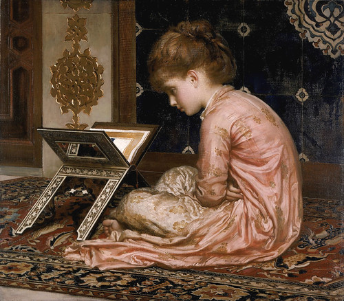 Lord Frederick Leighton 'Study- at a Reading Desk' 1877 | by Plum leaves